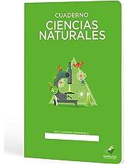 Cuadernos Camaleón A4 Grapa, cuadrícula 4x4, 48 Hojas, diseño Ciencias Naturales