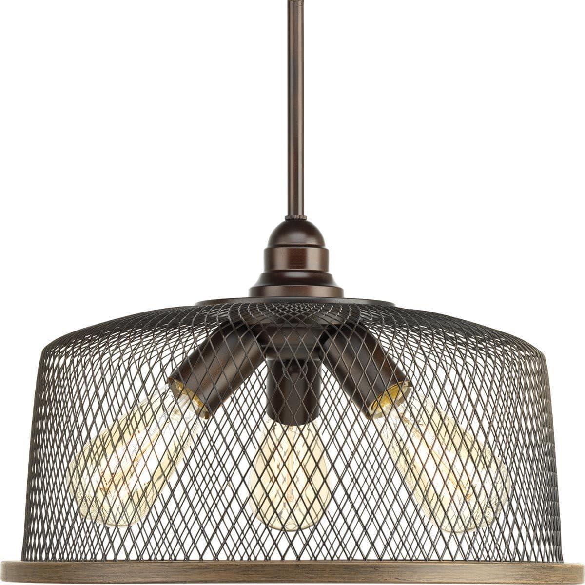 Progress Lowest price challenge Lighting P500079-020 Tilley Pendant Brown Special sale item Three-Light