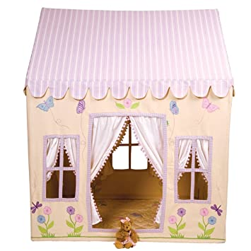 Win Green Cotton Play Tent Large Butterfly Cottage  sc 1 st  Amazon.com & Amazon.com: Win Green Cotton Play Tent Large Butterfly Cottage ...