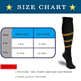 3 Pairs Compression Socks Women and Men - Athletic