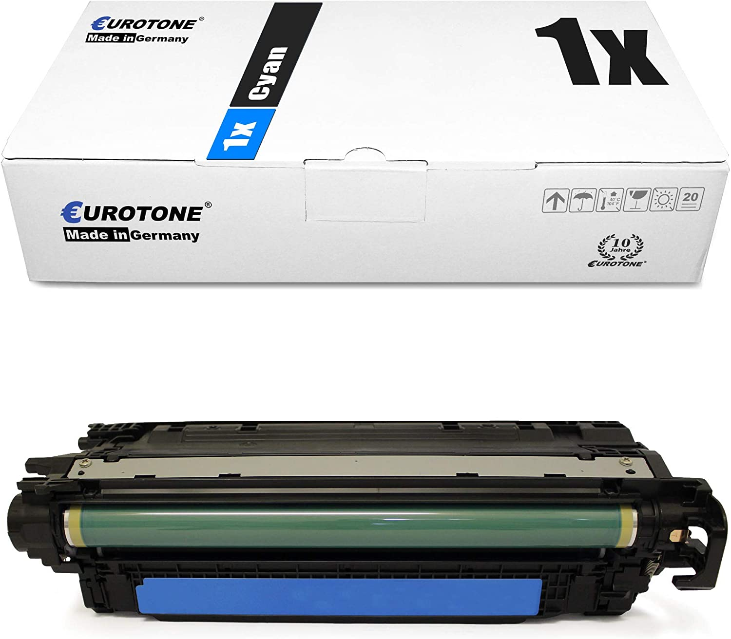 5X Eurotone XXL Remanufactured Toner for HP Color Laserjet CP 4520 dn n Replaces CE260X-63A 648A 649X