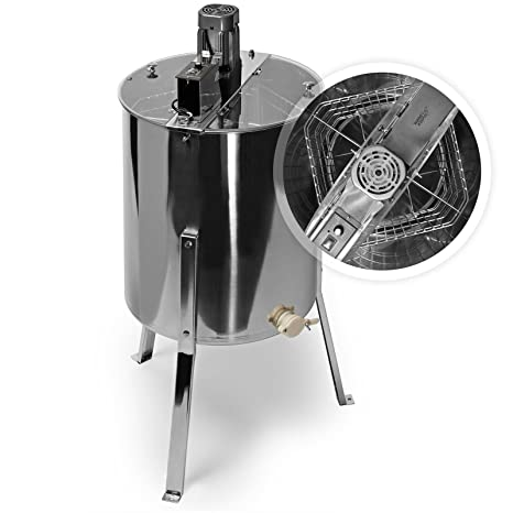 Pro Electric 4/8 Frame Stainless Steel Honey Extractor Beekeeping Equipment Drum Livestock Supplies