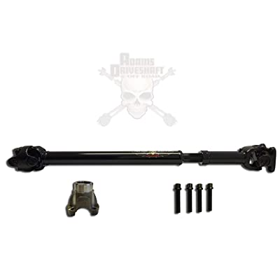 JK Wrangler Front 1310 CV Driveshaft [Greasable U-Joints]: Automotive