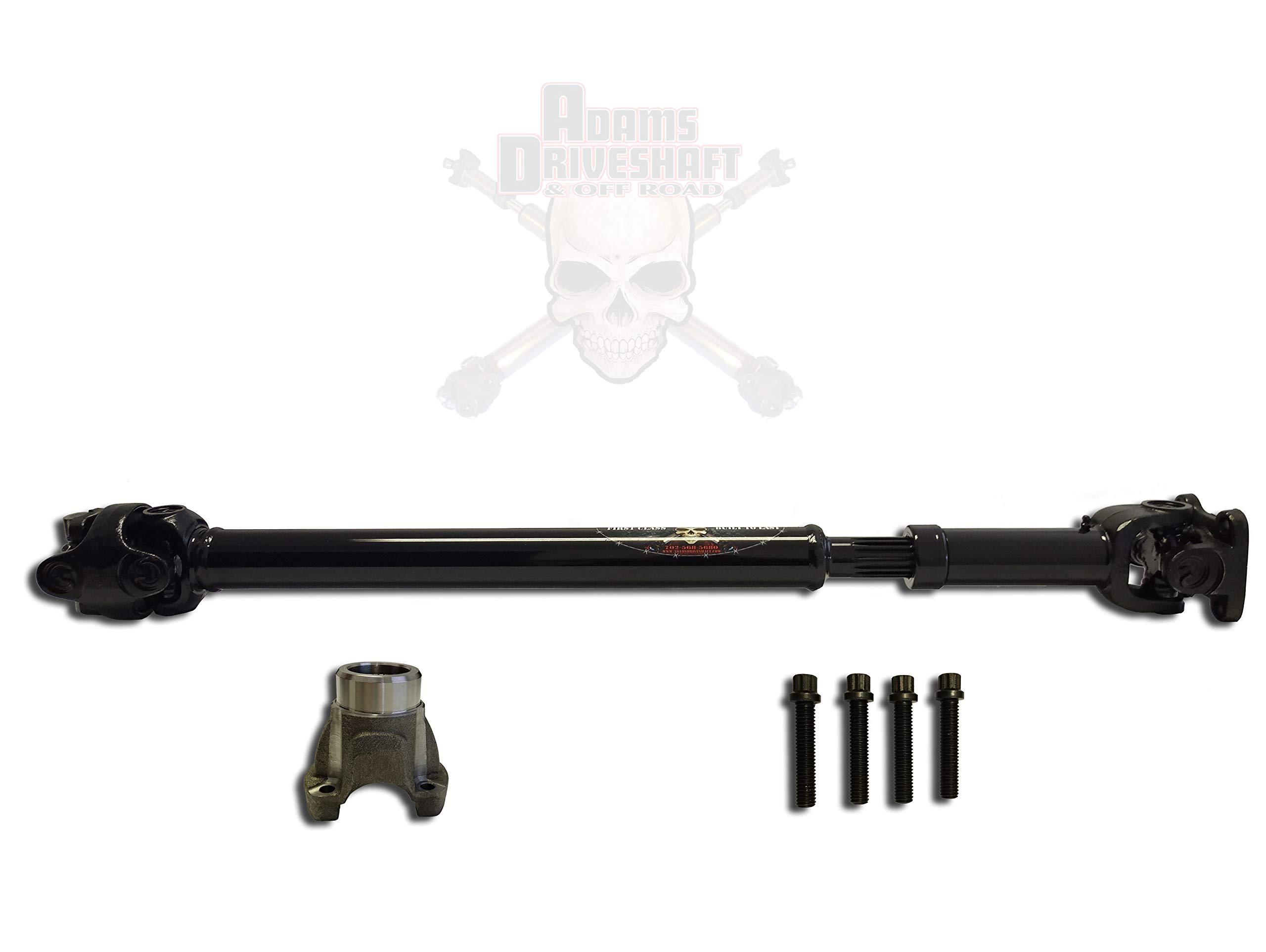 JK Wrangler Front 1310 CV Driveshaft [Greasable U-Joints]