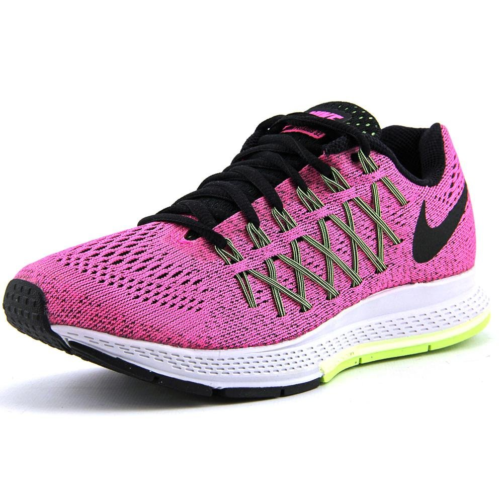 Wmns Nike Air Zoom Pegasus 32 Pink PowBlk Brly Vlt Ghst Grn