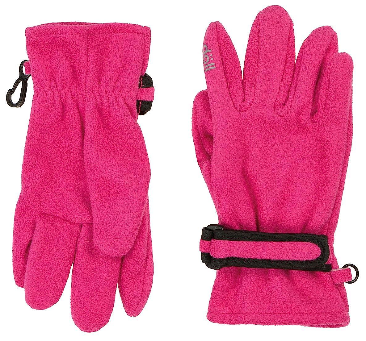 Wasserdicht,Atmungsaktiv /& Winddicht von D/ÖLL in Pink Fingerhandschuhe aus Fleece