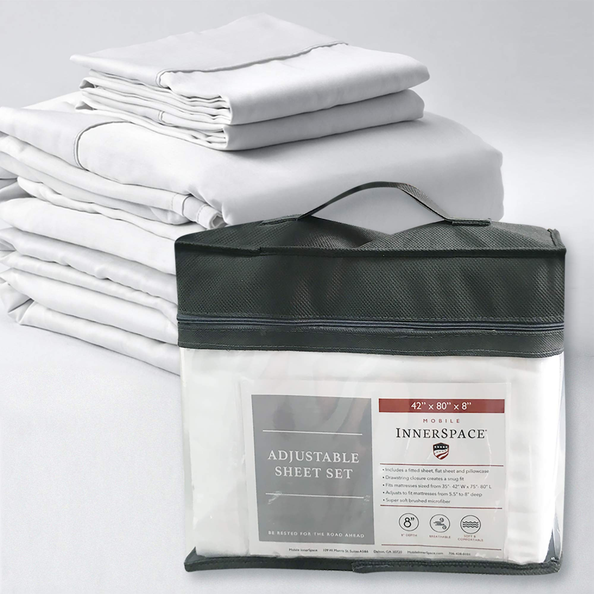 MOBILE INNERSPACE SH-WH-42808 Sheet Set by MOBILE INNERSPACE
