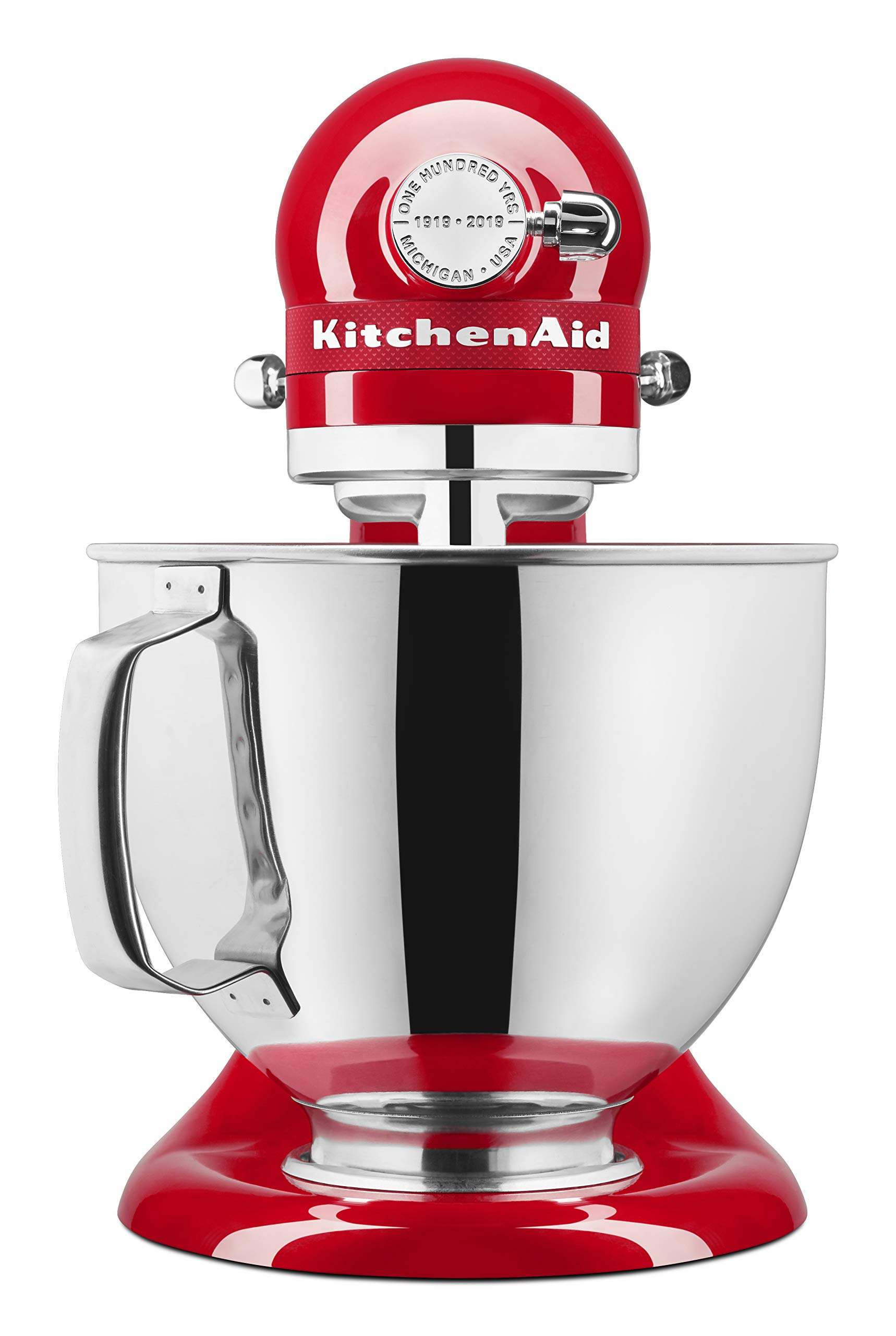 KitchenAid KSM180QHSD 100 Year Limited Edition Queen of Hearts Stand Mixer, Passion Red by KitchenAid (Image #3)