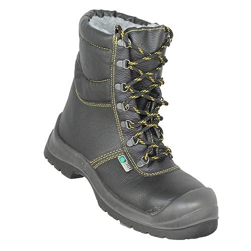 Botas de Seguridad Siili Seguridad Baustiefel S3 Ci SRC Trabajan Negro Botas Zapatos: Amazon.es: Zapatos y complementos