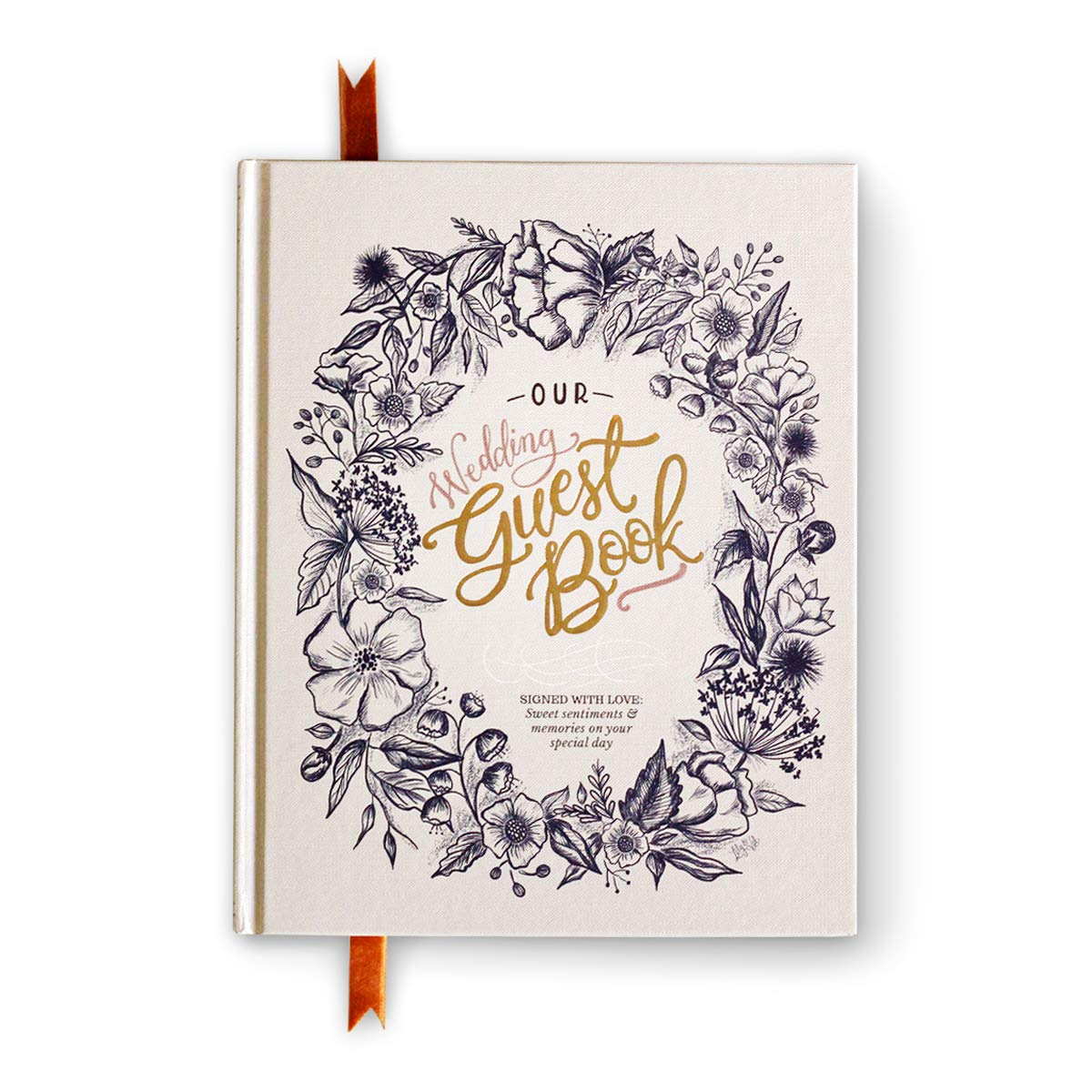 The Lily & Val Wedding Guest Book