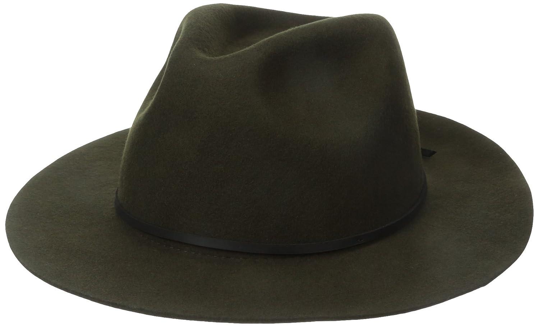 b6c4f273ca7 Amazon.com  Brixton Men s Wesley Fedora Hat  Clothing