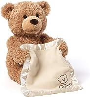 GUND Peek-A-Boo Teddy Bear Animated Stuffed Animal Plush, 11.5
