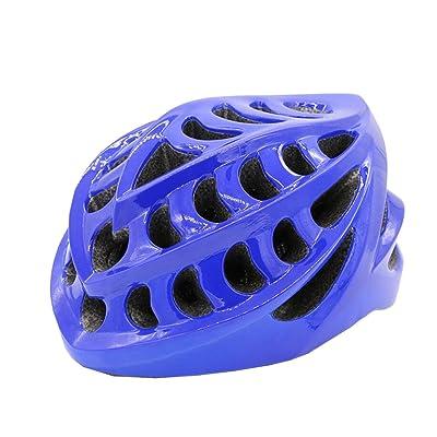 Équitation Casque Intelligent Bluetooth Lecteur De Musique Voix Sécurité Sécurité Protection Casque Adulte Vélo Casque,Blue