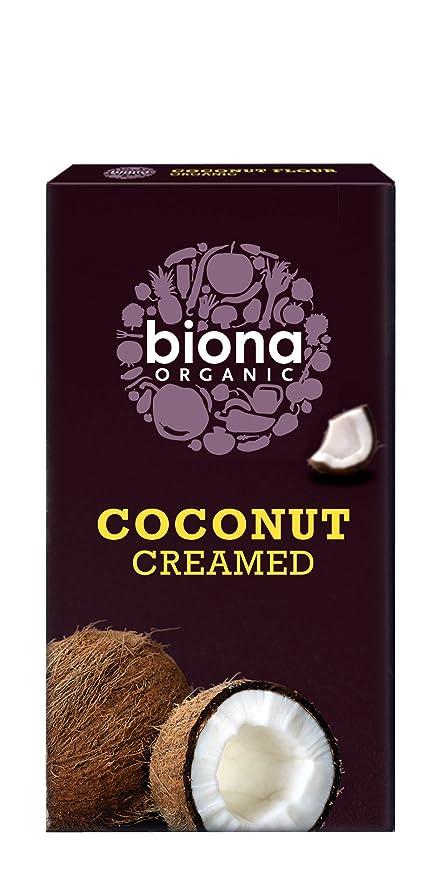 Biona Concentrado de Coco - Paquete de 6 x 200 gr - Total: 1200 gr