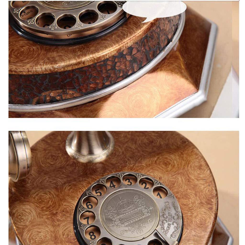 FJH Callback Retro Phone Bronce Metal Fashion Creative Tocadiscos ...