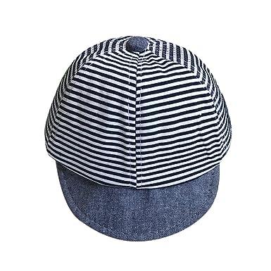 pingtr Sombrero para niña y niño bebé, Bebé niño Gorra de béisbol ...