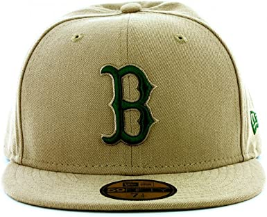 New Era MLB Boston Seas Cont medias rojas 59FIFTY Gorra de béisbol ...