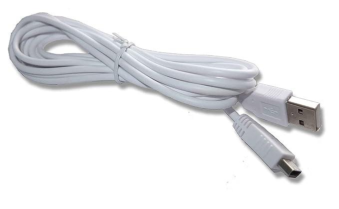 Gamers Gear Nintendo WiiU Wii U USB controlador del cargador ...