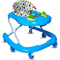 GoodLuck Baybee Galaxy Round Baby Walker for Kids with 3 Position Height Adjustable Kids Walker,Fun Toys & Activities for Babies/Childs (6 Months to 2 Years) (Blue)