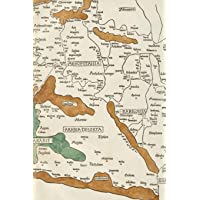 1482 Map of Palestine, Mesopotamia, and Babylonia in Present Day Middle East - A Poetose Notebook / Journal / Diary (50 pages/25 sheets) (Poetose Notebooks)