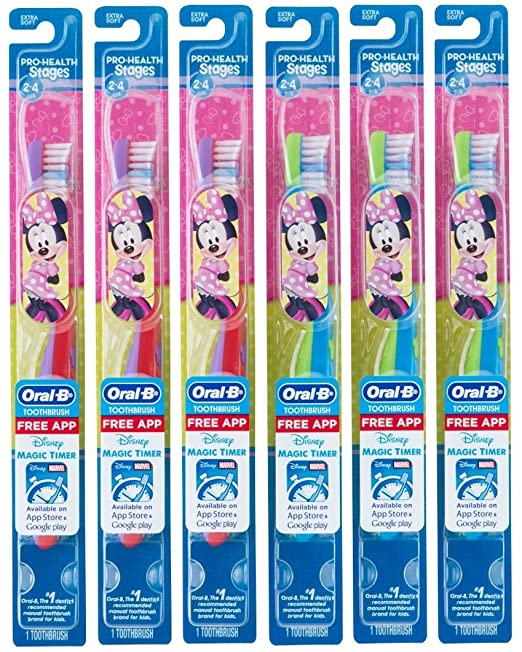 Amazon.com: Oral-B Stages 2 Toothbrush Winnie the Pooh Extra ...