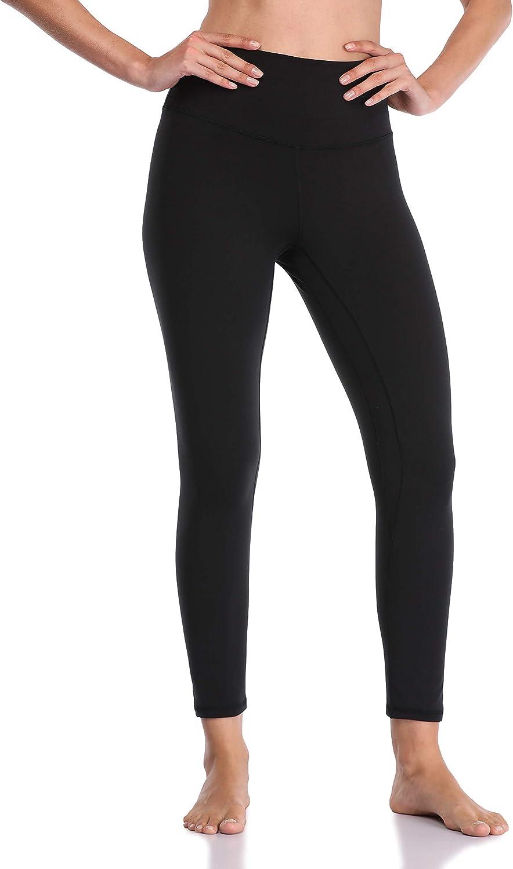 YUNOGA Womens Ultra Soft High Waisted Seamless Leggings Tummy Control Yoga Pants