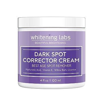 Skin Whitening Cream For Face Dark Spot Corrector Best Age Spot Remover Hands Body 4 Oz Beauty