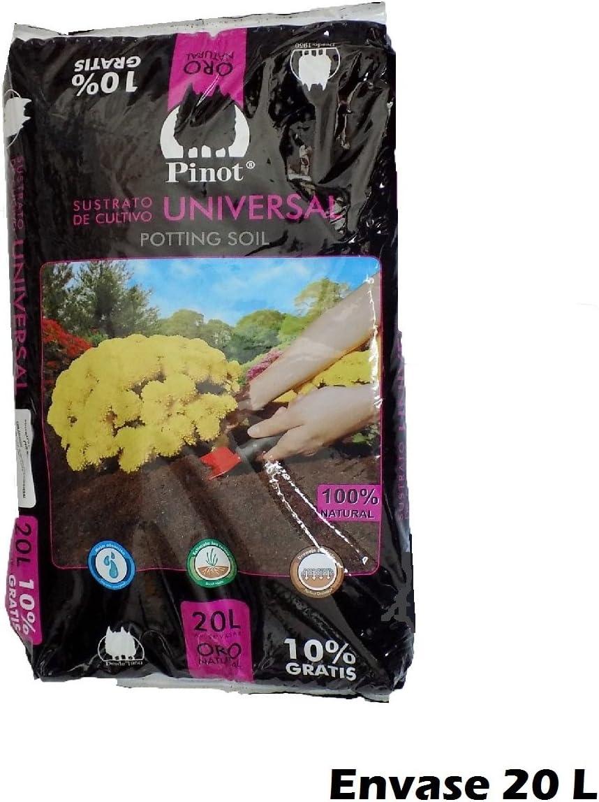 Turba sustrato de Cultivo Humus Corteza Pino 20 L substrato Pinot Premium