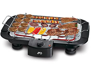 Severin Barbecue Xxl Elektrogrill : Amazon md mg xxl elektrogrill bbq barbecue standgrill