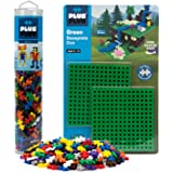 Plus-Plus - Baseplate Duo & 240 Piece Basic Tube Set - Construction Building STEM Toy, Interlocking Mini Puzzle Blocks…