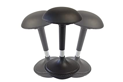 Wobble Stool Adjustable Height Active Sitting Balance Chair For Office Stand  Up Desk. Best Tall