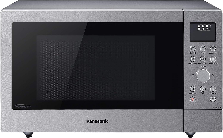 Panasonic NN-CD58 Microondas, 1000 W, 27 litros, plata: Amazon.es ...