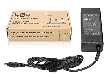 Wessper 404Brand Cargador Adaptador para Ordenador Portátil para Samsung NP-SE11I sin Cable de alimentación (19V, 4.74A, 90W, 5.5mm: Amazon.es: Electrónica