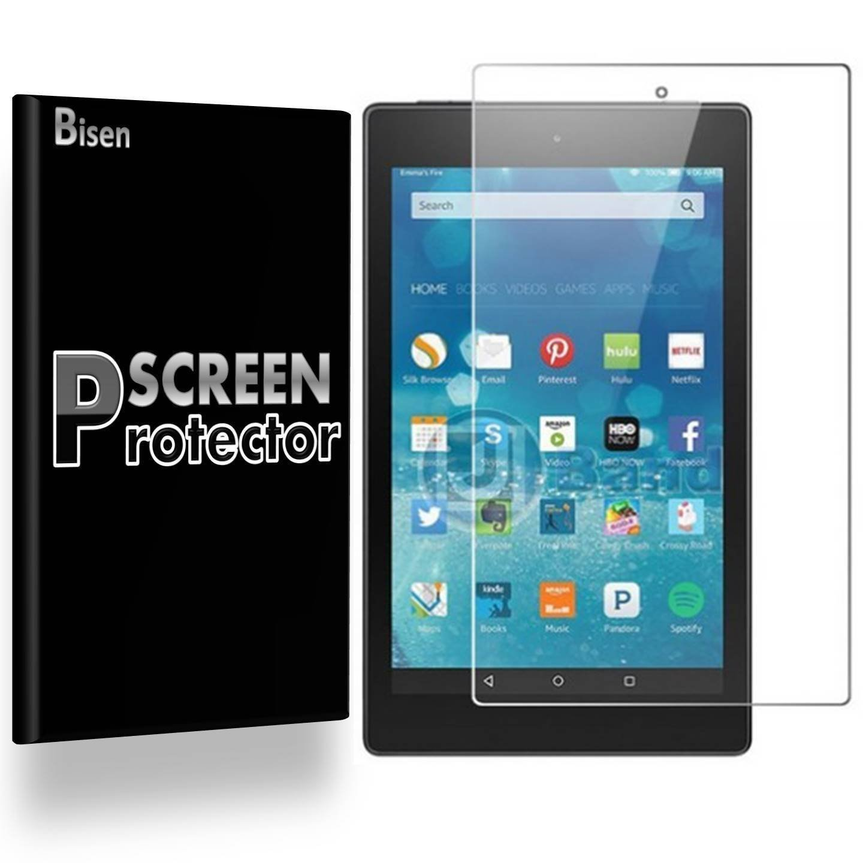 [2-PACK BISEN] All New Fire HD 10 (7th Gen, 2017 Release) Tablet w/ Alexa  Screen Protector, Anti-Glare, Matte, Anti-Fingerprint, Lifetime Protection  &