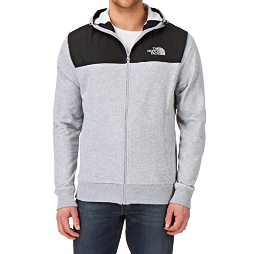 f91aa0ea9 The North Face Heritage Mountain Full Zip Zip Hoody - Heather Grey ...