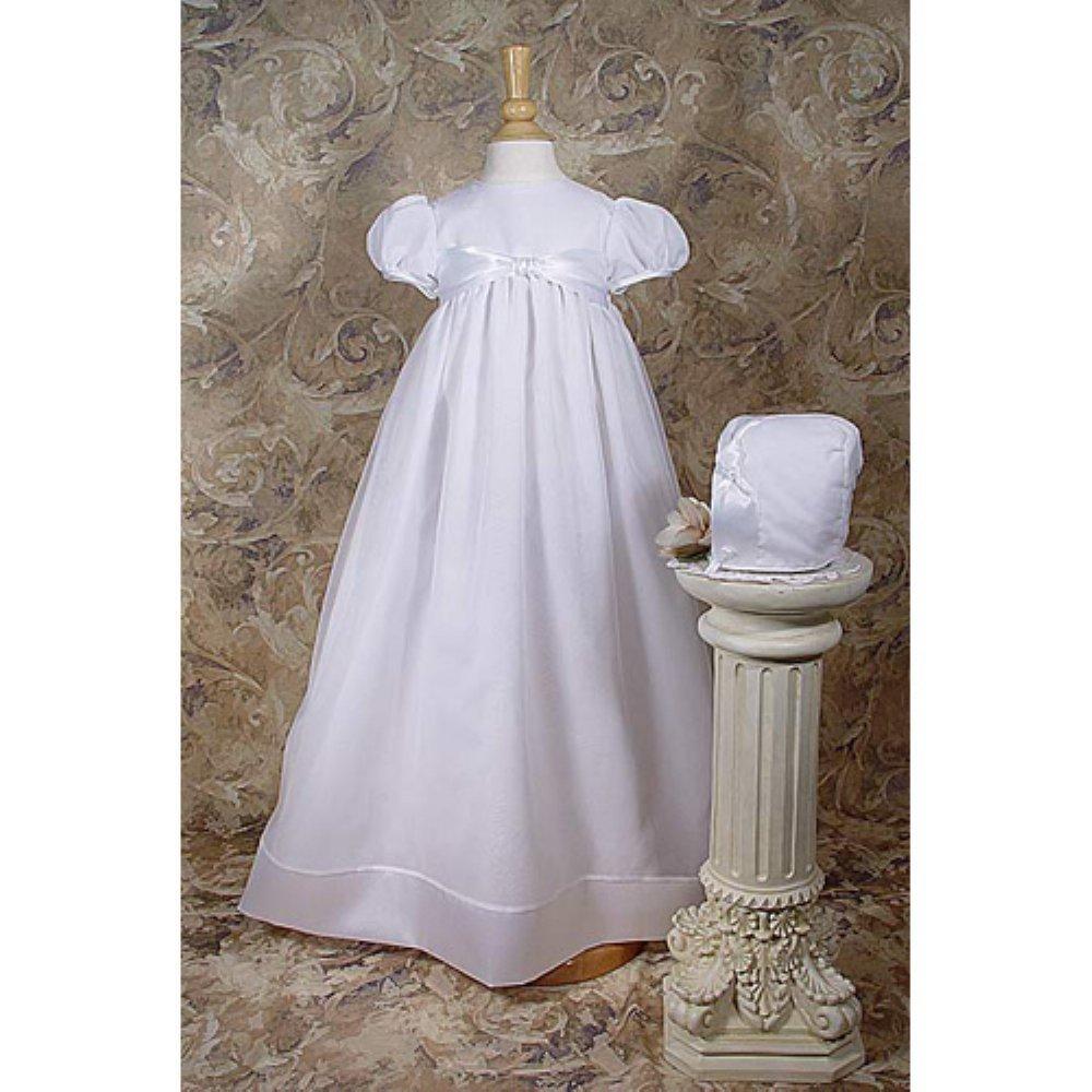 Brielle Organza Christening Gown