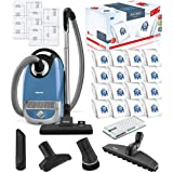 Miele Complete C2 Hard Floor Canister HEPA Vacuum Cleaner Bundle - Includes Miele Performance Pack 16 Type GN AirClean Filter