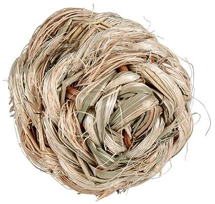 Trixie - Pelota de Hierba con Cascabel - - 10 cm.: Amazon.es ...