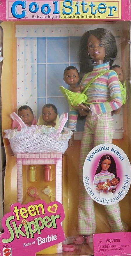 Barbie Cool Sitter Teen Skipper Doll Aa W Babysitting 4 Babies Aa Baby Dolls For Quadruple