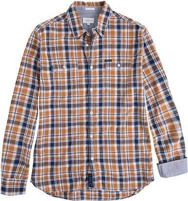 Pepe Jeans - Camisa Empire Hombre - Color: Mostaza (M): Amazon.es: Ropa y accesorios