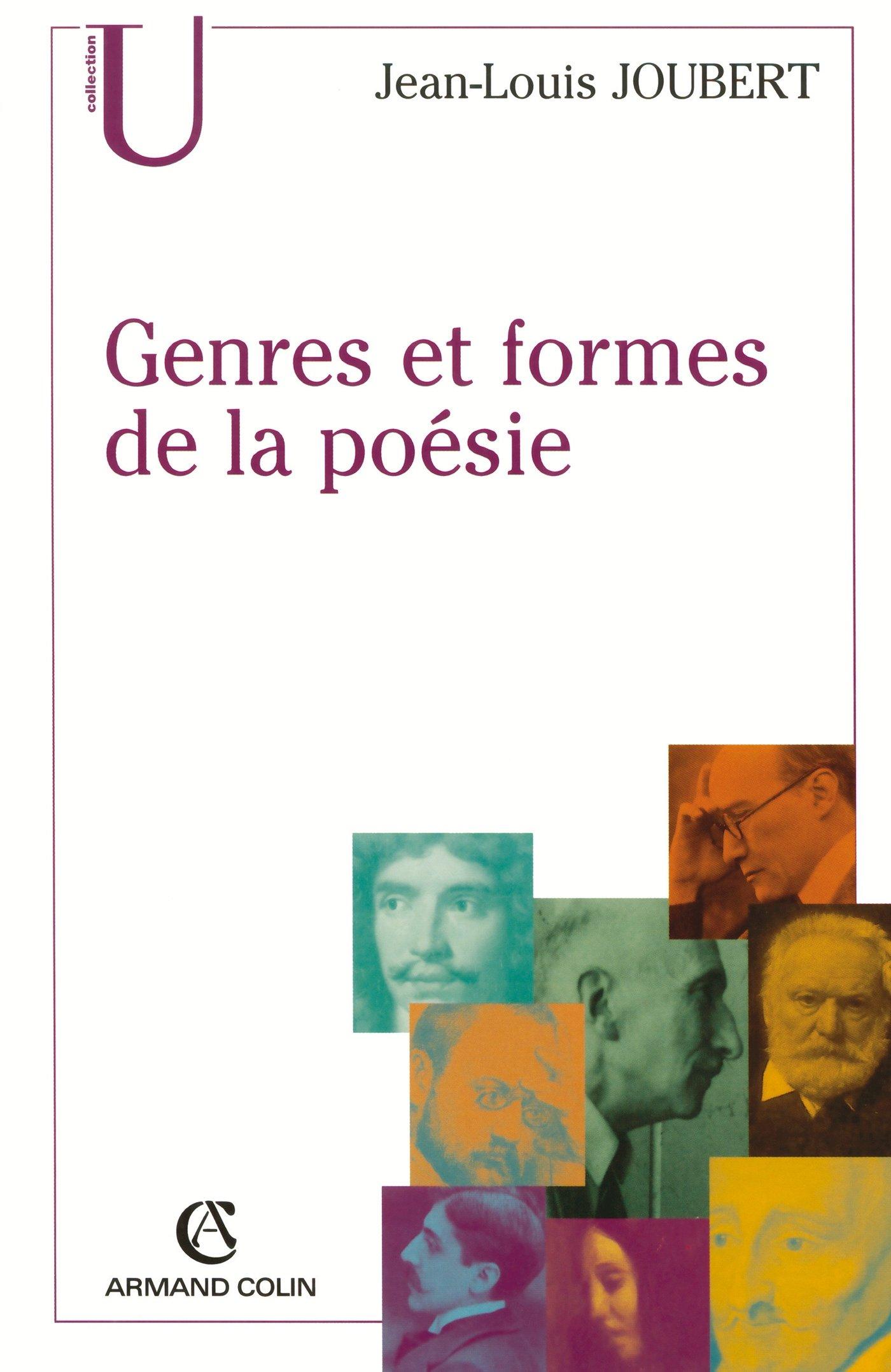 Genres Et Formes De La Poésie Jean Louis Joubert