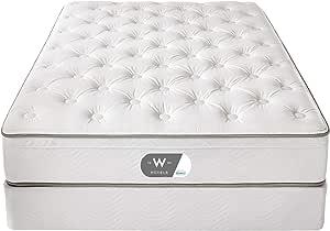"W Hotels Bed - 13"" Euro Top Mattress - Twin"