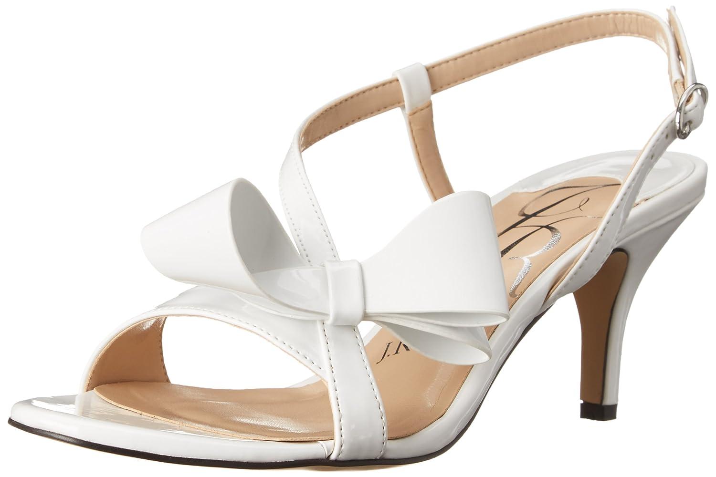 Amazon.com | J.Renee Women's Fedelia Dress Pump, White Patent, 9.5 W US |  Pumps