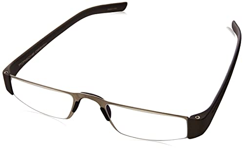 b2bd20ce4 Porsche Design P8801 Eyeglasses 8801 F Men frame Gun Metal, Silver  48mm,Power +