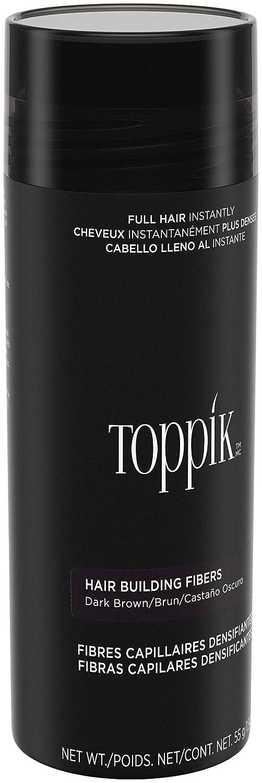 Toppik Fibras Capilares, Color Castaño Oscuro - 55 gr: Amazon.es: Belleza