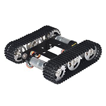 Toys & Hobbies Adaptable Smart Robot Car Tank Chassis Kit Aluminum Alloy Big Platform With Motors For Diy Remote Control Robot Car Toys Complete In Specifications Remote Control Toys