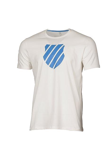 K-Swiss 101904122 Camiseta de Tenis, Hombre: Amazon.es ...