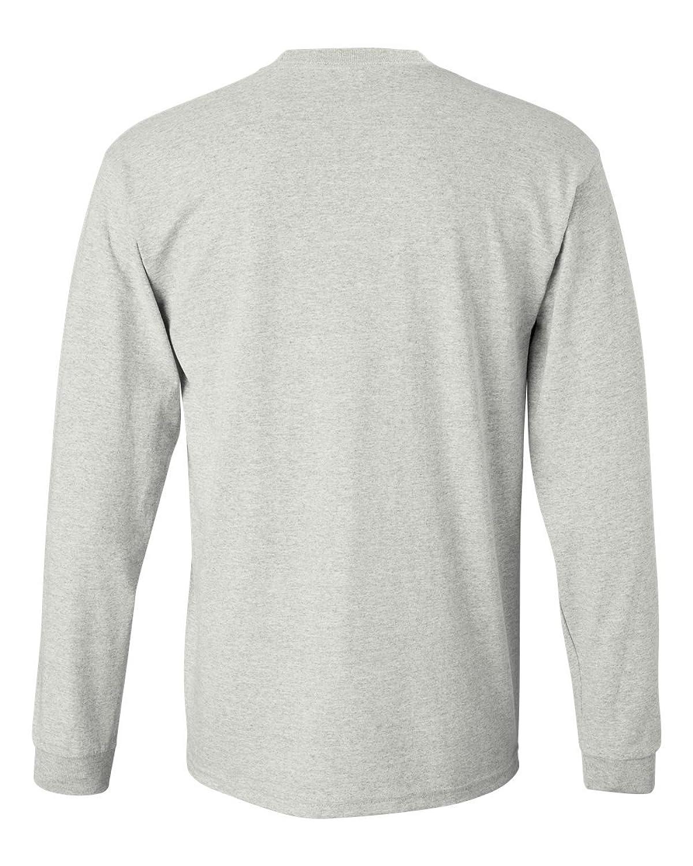 Amazon.com: Men's Long Sleeve Heavy Cotton Crew Neck T-Shirts in ...