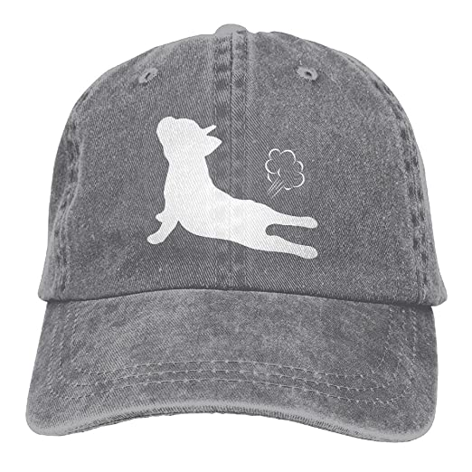 463bd6af448 ONE-HEART HR Bulldogs Fart Baseball Caps Denim Hats For Men Women at Amazon  Men s Clothing store