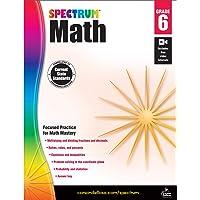 Spectrum | Math Workbook | 6th Grade, 160pgs